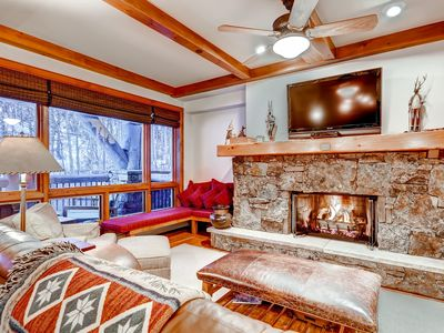 Photo for Scenic On-Mountain 2Br/2.5Ba Bachelor Gulch Ski in/Ski out