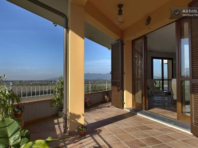 Photo for Amazing Home in Tuscany Countryside,  Beautiful View, Perfect Location, AC