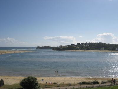 Photo for Guidel Beaches, Facing the sea, Full sea view, Beach at 50 m, Superb Furnished T3