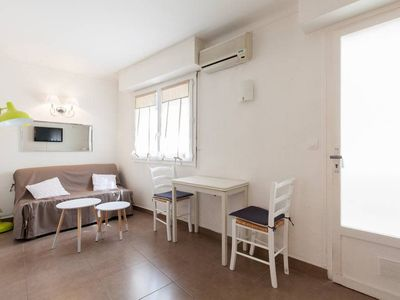 Photo for (004) Air Conditioned Studio. Ideal location 'Pinède Area'  Car park