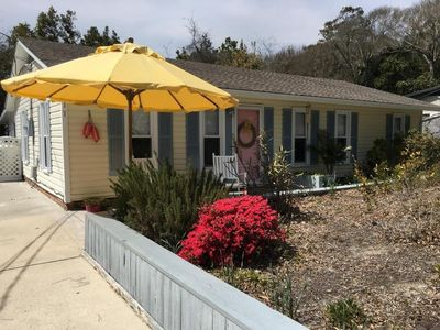 Photo for NEW LISTING: Renovated Cottage with Private Oceanfront Parking,  NO extra fees