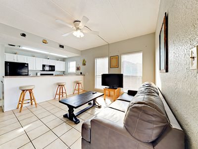 Photo for Roomy 1BR Condo by the Beach w/ Secluded Pool—Near Shopping & Dining
