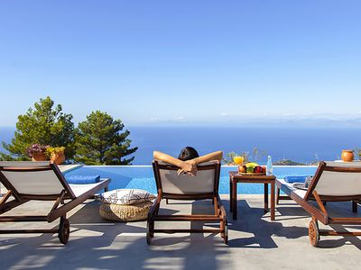 Photo for Sunset Villa With Panoramic View&Private Pool Now With 10%Off For EarlyJulyDates