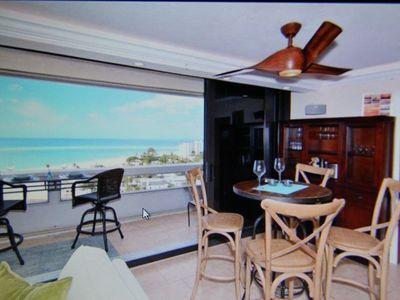 Photo for Our Penthouse (16th floor) Oceanfront w/direct Sunset view on #1 Beach in USA!