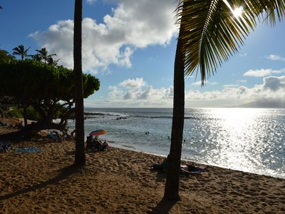 Photo for Napili Bay #103, Amazing Views, Beautiful Oceanfront Studio,  Perfect for Couple
