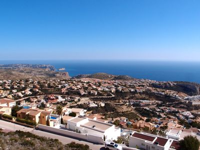 Photo for Super holiday apartment with stunning sea views, 2 amazing pools and Free WiFi!