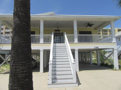 Photo for Four Bedroom Beach House, Gated, Gulf Views, WIFI, Sleeps 8