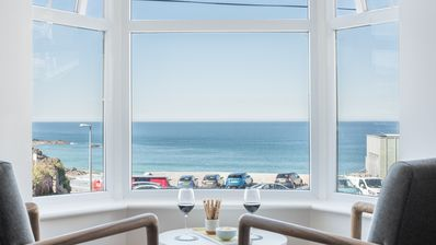 Photo for Coastal Seascape, luxury three bedroom apartment with parking and outstanding sea views