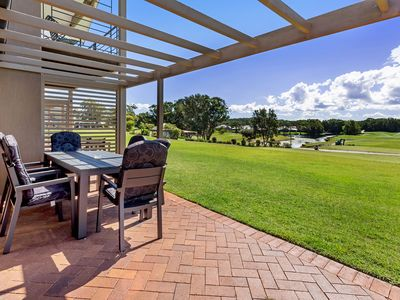 Photo for A private villa overlooking Horizons Golf Course.