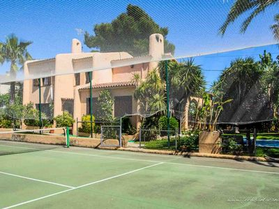 Photo for Perfect house to relax, calm village, with private pool and tennis court