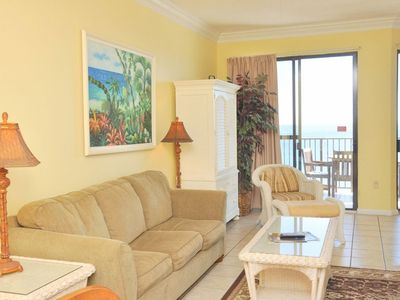 Photo for GREAT BEACH FRONT VIEW from this 1 Bedroom at Phoenix 4