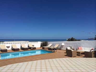 Photo for 3 Bedroom Luxury Villa With Private Pool on The Famous Famara Beach