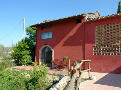 Photo for Vacation home La Sorbigliana  in Castelfiorentino, Tuscany Chianti - 4 persons, 2 bedrooms