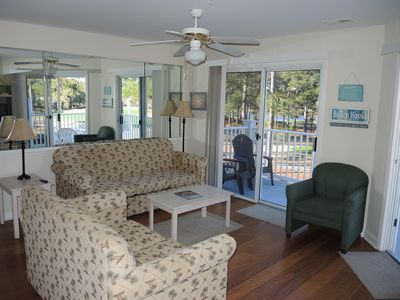 Photo for 2 Bedroom/2 Bathroom, Golf Course View, Calabash style Seafood nearby(2909)