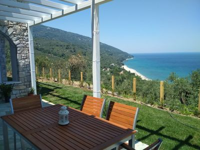 Photo for Moses Villa: Olive apartment with garden and amazing view