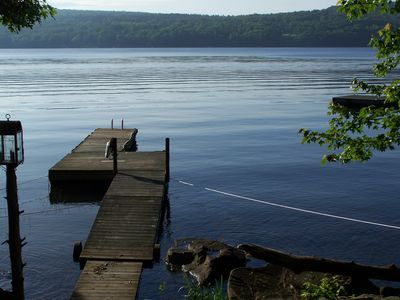 Boat Dock and Swim Dock (off to right)