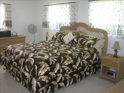 Master Bedroom with Brand New Cal-King Mariner's Dream Bed