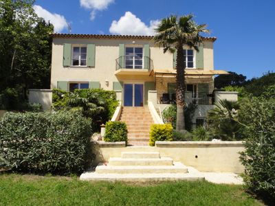 Photo for Large Villa Of 180m2 With Swimming Pool Near Beach .'300metres'
