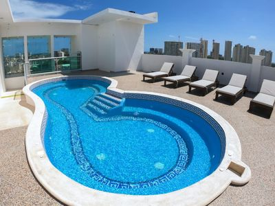 Photo for NEW CANCUN OCEAN VIEW BED & BREAKFAST BED & BREAKFAST  WITH 2 POOLS