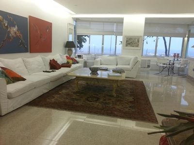 Photo for New Copacabana Front Beach. 230 meters. 4 rooms. Up to 8 guests.