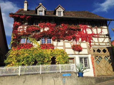 Photo for Living in a house with 300 Years history ,  2 minutes to Rheinfall