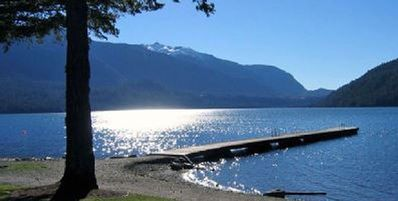 Photo for Gorgeous 3 bedroom Cultus Lake Home, 2 mins to beach, 3 mins to waterpark & shop
