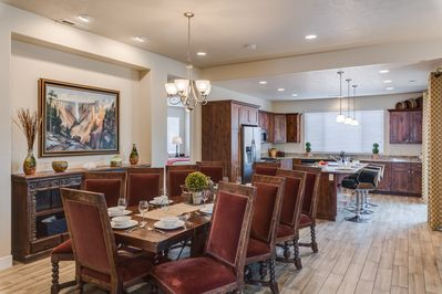 Dining Room - - Seat up to 10 at the table