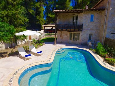 """Photo for Two bedroom villa with private pool  """"Helona"""""""