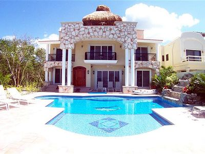 Photo for Oceanview Villa with Private Pool. Cook Svce Option. Brilliant Views!