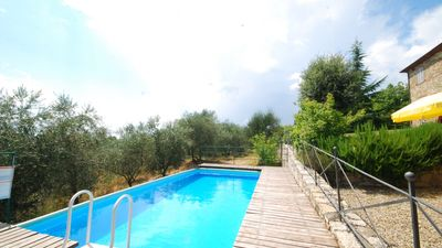 Photo for Holiday home with private pool, WiFi, private garden, Chianti Classico, Siena