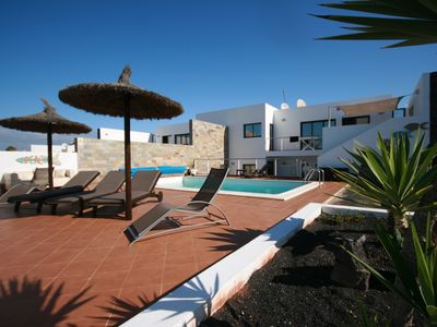 Photo for Villa Lazy Stays Luxury Villa With Private Heated Pool FREE, WiFi, pool heating