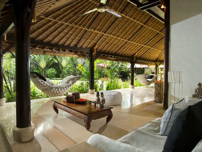Photo for Authentic private Bali Villa with cook and pool, set in a lush tropical garden