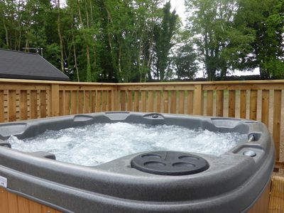 Photo for Squirrel Lodge 41 with Hot Tub, Newton Stewart