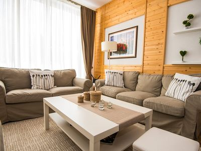 Photo for Luxury 3 Bedroom Mountain View Chalet ( sleeps upto 8)