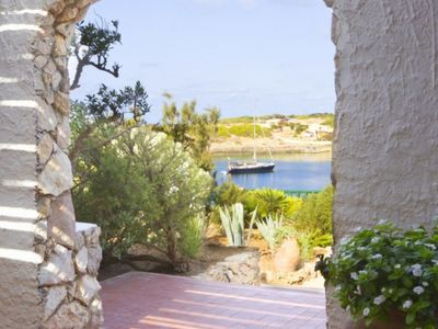 Photo for Stella Marina few steps from the beautiful beach of Cala Francese