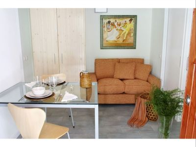 Photo for Barceloneta Beach III apartment in Barceloneta with WiFi & air conditioning.