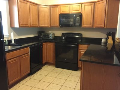Enjoy making meals or snacks in our updated kitchen!