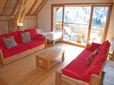 Photo for independent chalet comfortable, at the foot of the slopes of Alpe d'Huez