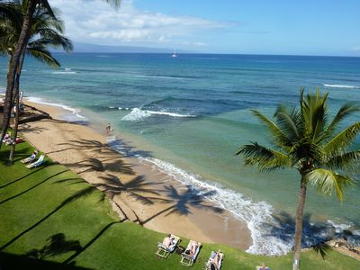 Photo for 2br 2ba Oceanfront Beach Condo at Private Waterfront Beach Resort. Unit A-402
