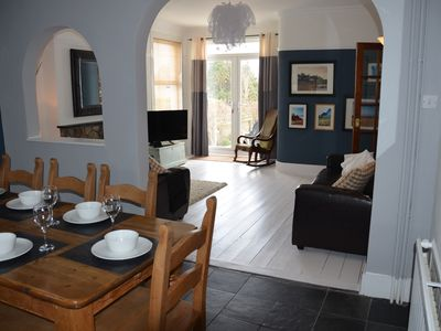 Photo for Abersoch - Large family townhouse with sea views, 500m from the beach
