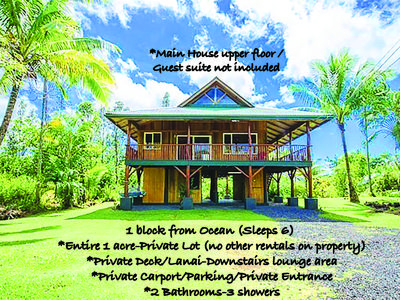 Photo for Casa By The Sea! Sleeps 6. Sounds of the Jungle and Ocean.Amazing Jungle Views.