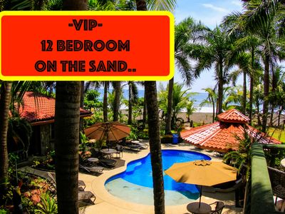 Photo for 2X VIP Bachelor Parties- All Inclusive - Beach Front - Room Per Guy. 12 Bedrooms