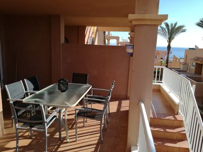 Photo for Nice apartment within walking distance of the sea and close to Marina Golf.