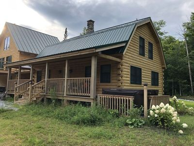 Photo for Serenity to the Log Castle is an authentic log home (brand-new construction)