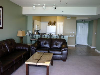 Photo for Beautiful, Clean Condo, Reserved Parking & Beach Chairs included *NO CLUB FEES*