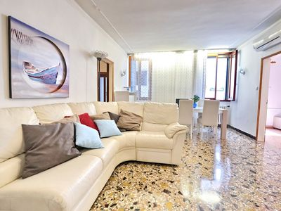 Photo for Venicelife, large apartment with canal view 850 meters far from San Marco square