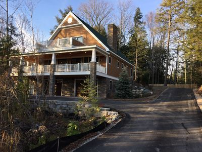 Photo for New Vacation Cottage with great views, beach access and close to town
