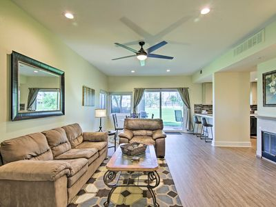 Photo for NEW! Cathedral City Resort Condo on a Golf Course!