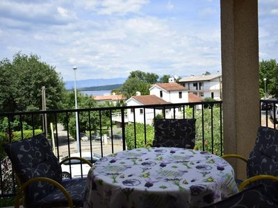 Photo for Holiday apartment Malinska for 4 persons with 2 bedrooms - Holiday apartment