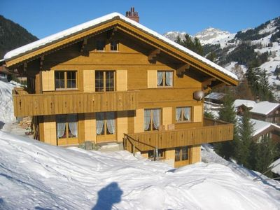 Photo for Apartment Uf em Pörtli in Lenk - 6 persons, 3 bedrooms